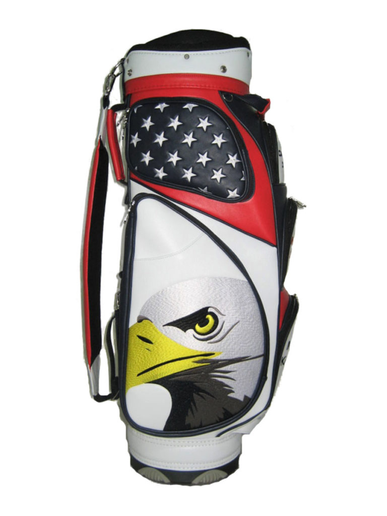 JS-08 9″ Elite Push Cart Bag