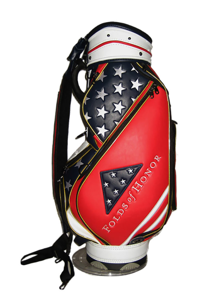 "2019 Folds of Honor JS-55 9"" Midsize Tour Staff Bag"