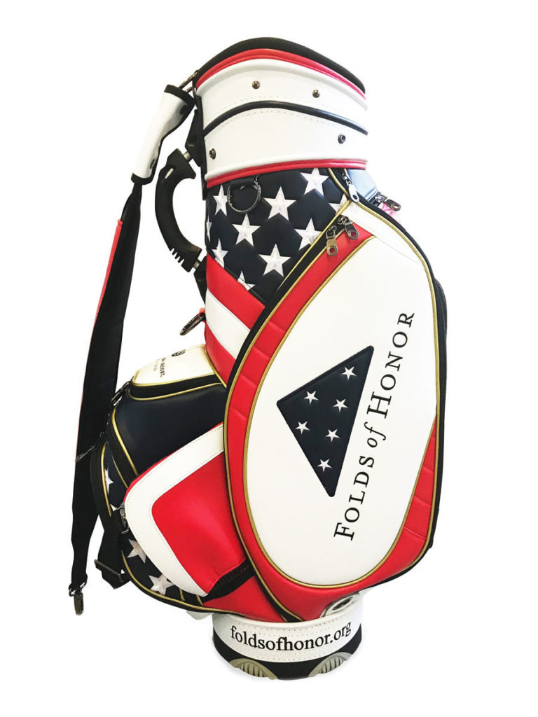"2020 Folds of Honor JS-00M 9.5"" Midsize Tour Staff Bag"