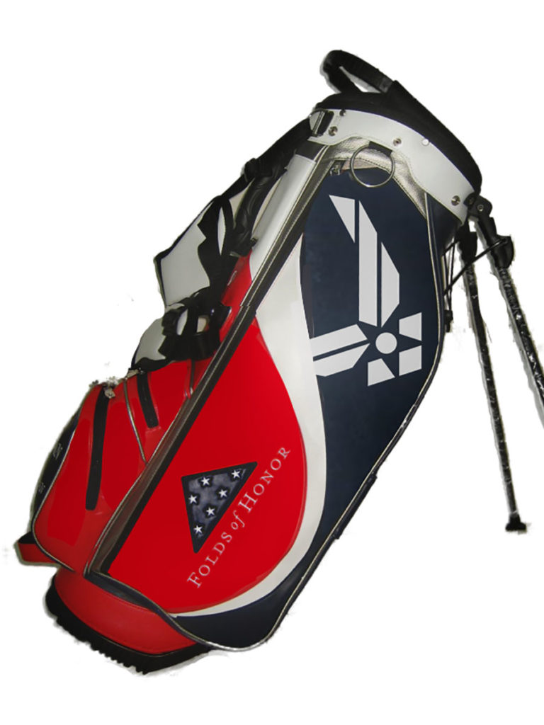 2020 Folds of Honor JS-31 Tour Fabrics Monogram Stand Bag
