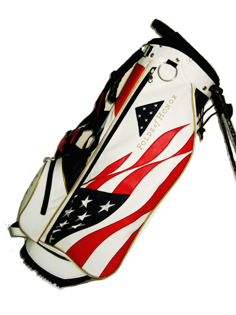 "2021 Folds of Honor JS-31 ""Old Glory"" Tour Fabrics Stand Bag"